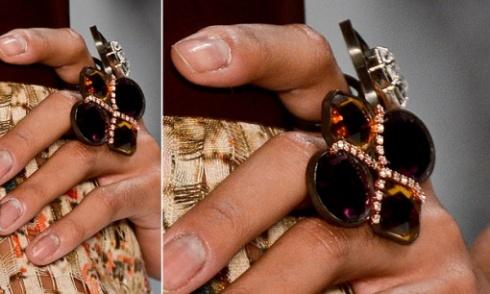 Os maxi anéis também virão com tudo. Filhas de Gaia. Rio Fashion Week.