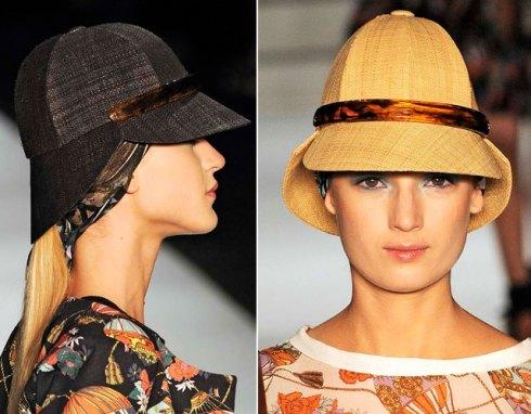 Inspirada em A Volta ao Mundo em 80 Dias (clássico de Julio Verne), Helô Rocha criou com o Atelier Eduardo Laurino o chapéu com shape originalíssimo, um certo ar vintage e muito, muito chique na estreia de sua Têca no SPFW